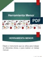HERRAMIENTA MENOR