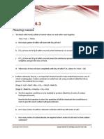 Worksheet 6.3