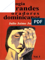 Antología de grandes oradores dominicanos - Julio Jaime Julia Compilador