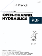 62269189 Open Channel Hydraulics by R H French