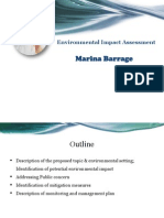 Environmental Impact Assessment-Marina Barrage