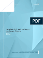 Canada's Sixth National Communication and First Biennial Report on Climate Change for 2014