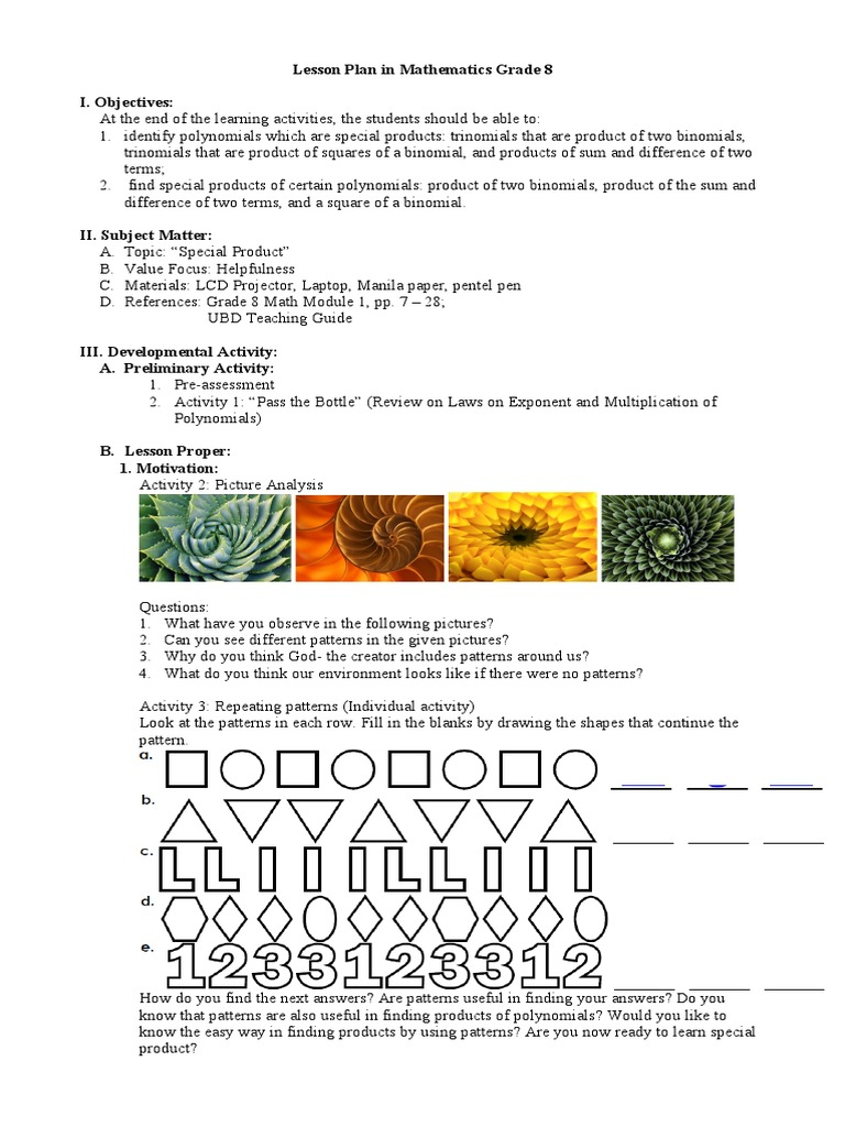 Worksheet On Special Products And Factoring - Stay At Hand