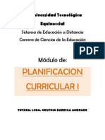 Modulo de Planificacion Curricular