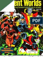 Xmen Superworld Character Sheets