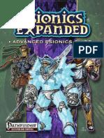Pathfinder - Psionics Expanded