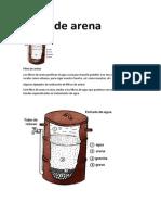 Filtro de Arena