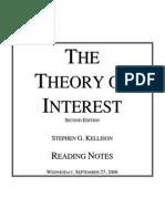 Kellison Reading Notes