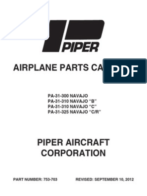 PC 753-703 | Landing Gear | Piper Aircraft