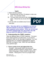 (eBook - English) - ToEFL - ToEFL Essay Writing Tips-1