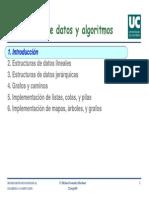 Cap1 Intro estructuras de dato