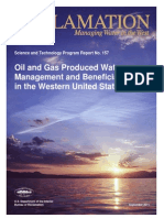 Report157 Oil and Gas Produced Water Management