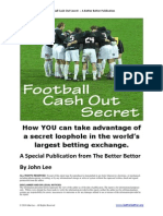 Football Cash Out Secret