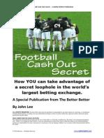 Football Cash Out Secret
