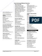 Bx Directory 2013-12 - Business Exchange Directory