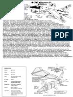 Card Model a-7E-Corsair