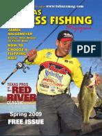 Texas Bass Spring Print