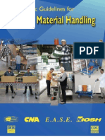 Ergo Guidelines for Material Handling