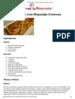Vovó Palmirinha – Torta de Frango com Requeijão Cremoso