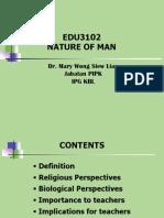 (1)Nature of Man