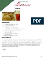 Vovó Palmirinha – Pérola de milho verde