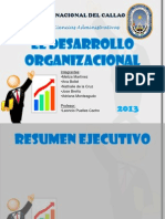 El Desarrollo Organizacional = Universidad Nacional Del Callao