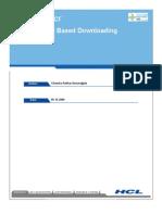 Version Based Java Application Downloading