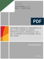 informe CNMC tarifazo
