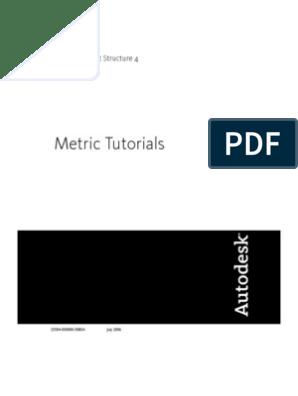 Revit Structure Metric Tutorials pdf   Autodesk Revit   Tab