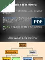 Clasificación de la materia-1