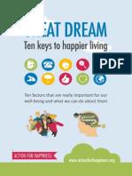 ten keys to happier living - guidebook