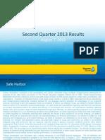 Rosetta Stone 2Q13 Earnings Presentation (Deleted 8abf258be142bf0fedb1f0ef1a68b149)