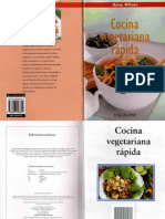 Anne Wilson - Cocina Vegetariana Rapidas