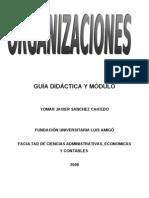Organizaciones = Yomar Javier Sánchez Caicedo