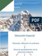 (1)Educación Especial
