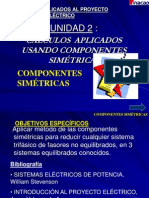 U2-1 COMPONENTES SIMÉTRICAS - Mallas de Secuencia