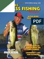 TX Bass Mag Fall 2009