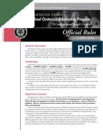 2012 National Oratorical Rules Brochure
