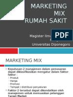Marketing Mix Rumah Sakit
