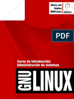 Curso de Introduccion Admintracion de Sistemas GNU-Linux