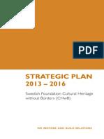 CHwB Strategic Plan 2013-2016