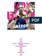 Digital Booklet - ARTPOP (Clean Version)