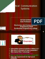 A. Lecture- Introduction optical fiber communication.