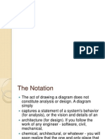 Notations in software design