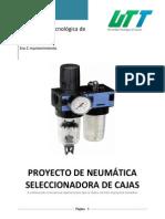 Reporte, Proyecto de Neumatica