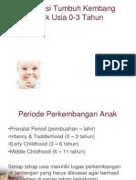 Stimulasi Tumbuh Kembang Anak 0-3 Tahun