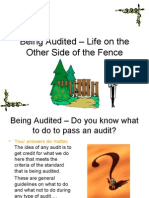 Being Audited – Life on the Other Side