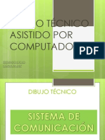 DIBUJO TÉCNICO ASISTIDO POR COMPUTADORA segundo semestre