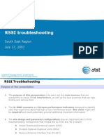RSSI Troubleshooting