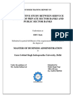 Comparative Analysis of Public Sector and Private Sectors Banks